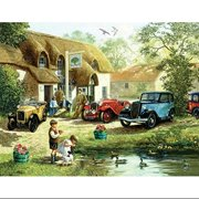 Sunsout Puzzle Company An Olde English Pub Multi-Colored