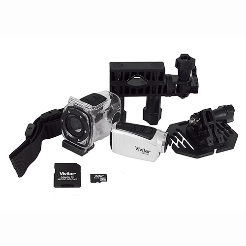 Digital Sports Action Camcorder Silver