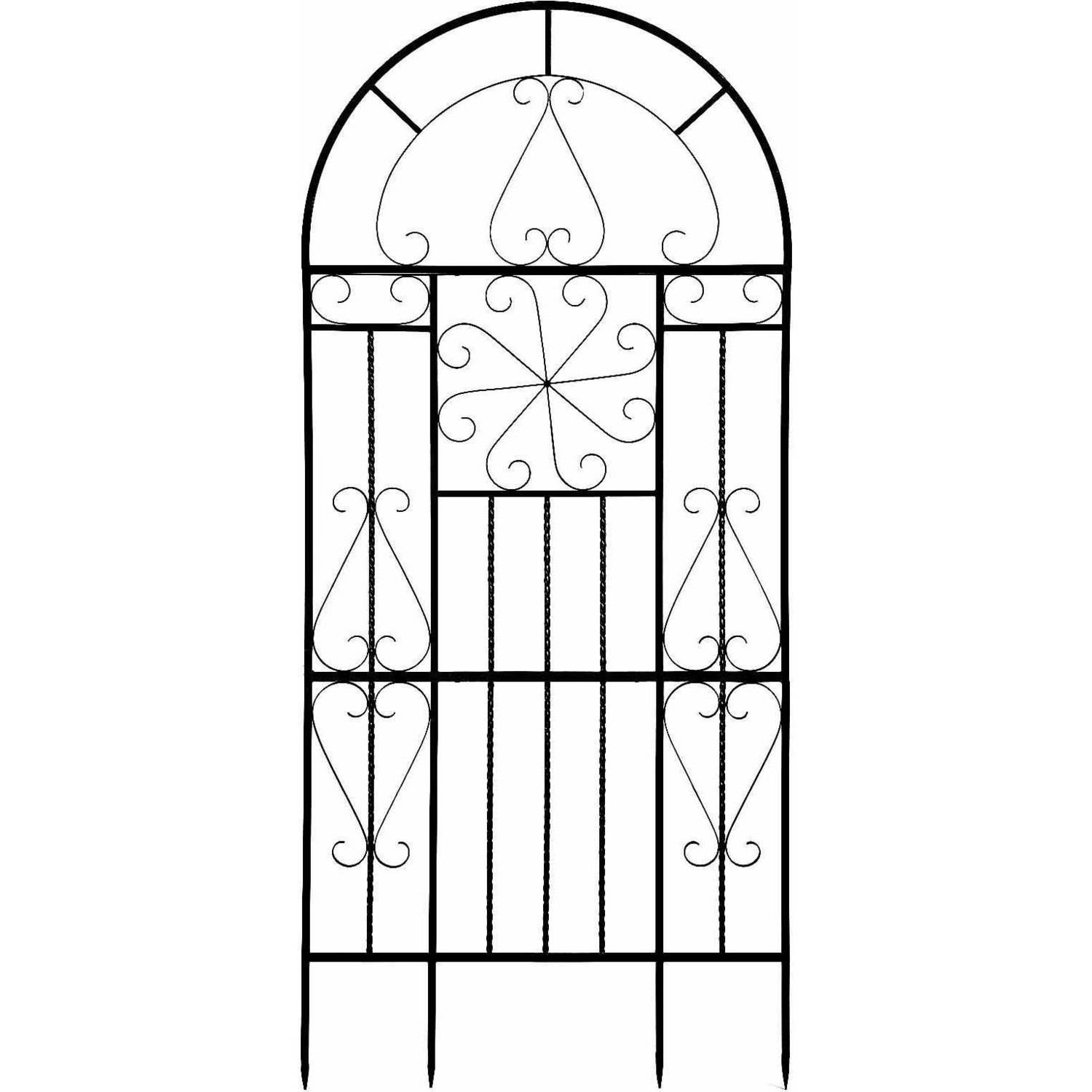 Deer Park Ironworks Kaleidoscope Metal Trellis by Deer Park Ironworks
