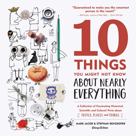 10 Things You Might Not Know about Nearly Everything : A Collection of Fascinating Historical, Scientific and Cultural Trivia about People, Places and Things (Edition 2) (Hardcover)
