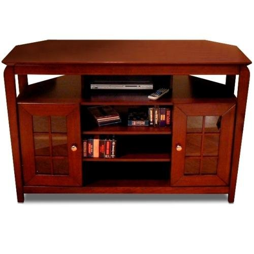 "Techcraft BAY4632 46"" Wide Av Stand Walnut"