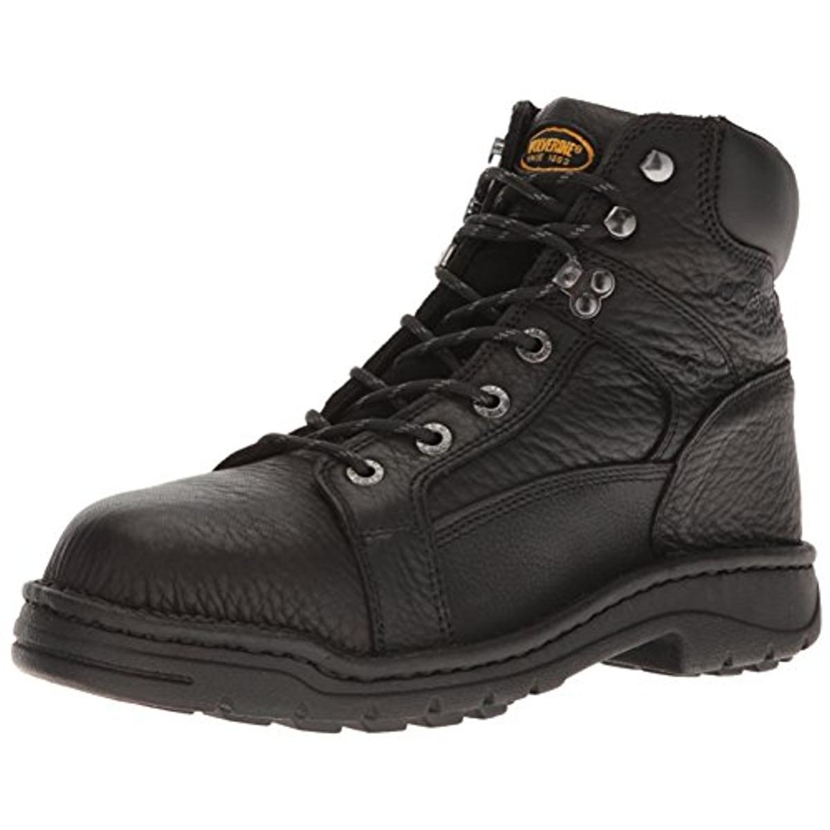 "Wolverine Mens Raider 6"" Leather Contour Welt Work Boots"