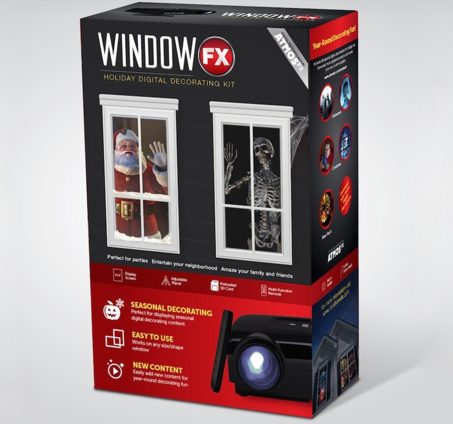 Window FX Christmas and Halloween Digital Seasonal Projector with Remote