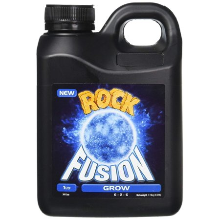 Rock Nutrients GGFGN1L Fusion Grow Base Nutrient, 1 L, Best single part plant nutrient on the market with no more mixing of 2 or 3 nutrients By 3rd Rock