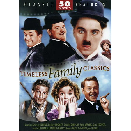 Timeless Family Classics: 50 Movie Set (DVD)](Good Family Movies To Watch On Halloween)