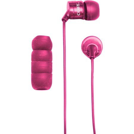 bade211c4a0 Coby Simply Sound Earbuds with Built-in Mic - Walmart.com