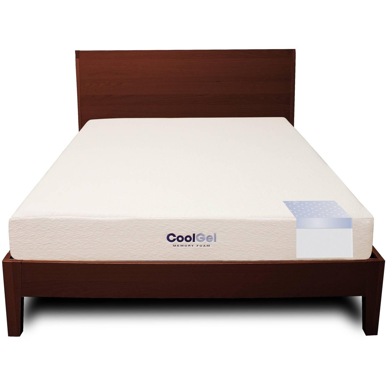 modern sleep cool gel ventilated gel memory foam 8inch mattress multiple  sizes walmartcom