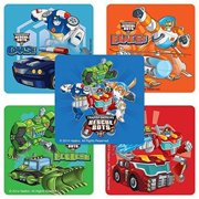 Transformers Rescue Bots Stickers - Birthday and Theme Party Supplies - 75 per Pack