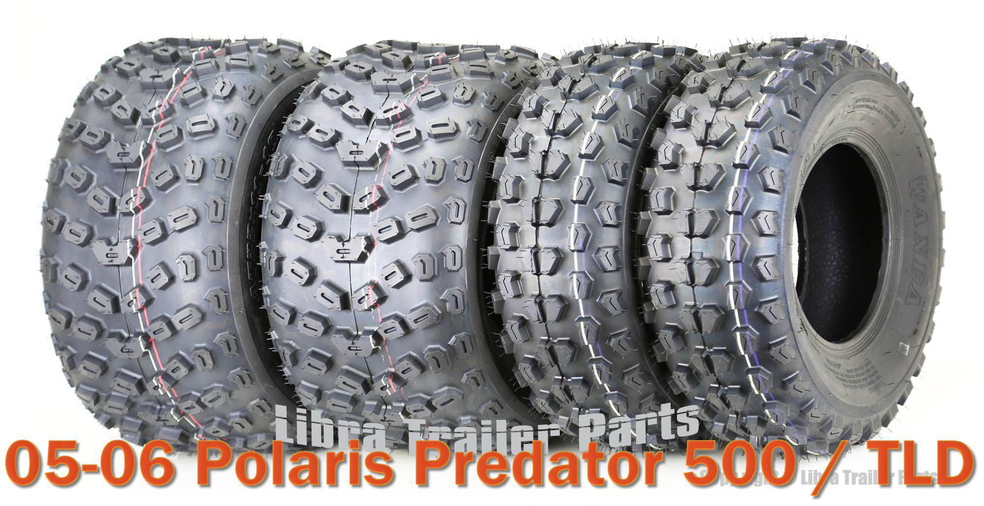 Tread Depth .5in.~2005 Polaris Predator 500 Trail Wolf Front Tire 21x7x10