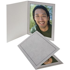 TAP Photo Folder Frame Gray Marble PF-20 5x7 - 25 Pack