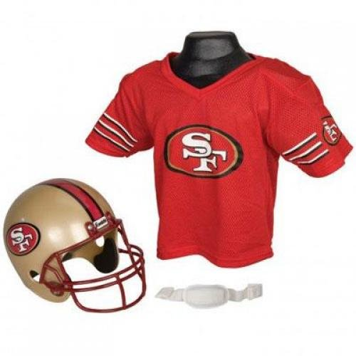 Youth NFL Helmet and Jersey Costume