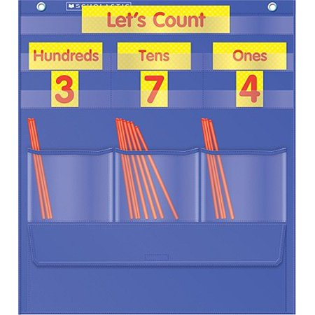 Richardsons Chart Books - Counting Caddie and Place Value Pocket Chart