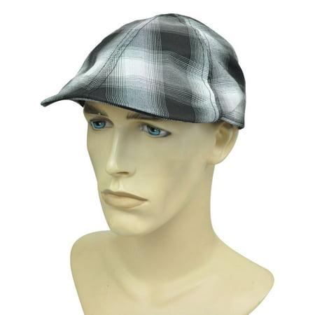 Newsboy Gatsby Cabbie Ole Plaid Ivy Driver Flat Plaid Relaxed Slouch Brand Hat](Great Gatsby Headwear)