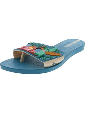 aa06b65f6 Product Image Ipanema Women s Nectar Blue   Beige Rubber Sandal - 10M