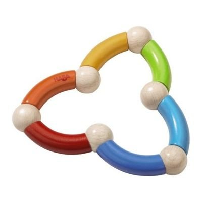 HABA Color Snake Clutching Toy (Made in Germany)