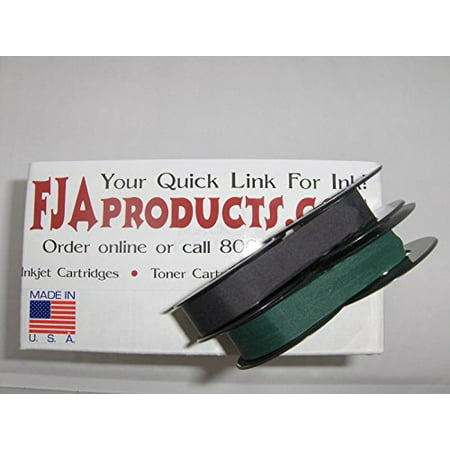 New Ink Ribbons for the Royal Portable Typewriters - Black and Green Ribbons New Ink Ribbons for the Royal Portable Typewriters - Black and Green Ribbons