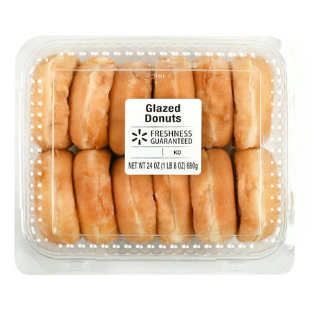 Freshness Guaranteed Glazed Donuts 24 Oz 12 Count