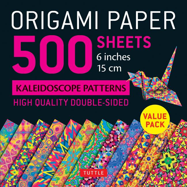 Double Sided Colors 200 Count Origami Paper 6-Inch For Arts and Crafts Projects