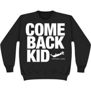 Comeback Kid Men's  Symptoms + Cures Sweatshirt Black