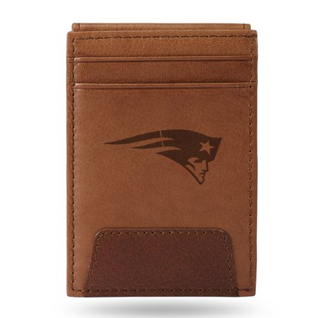 New England Patriots Sparo Leather Front Pocket Wallet - No Size ()