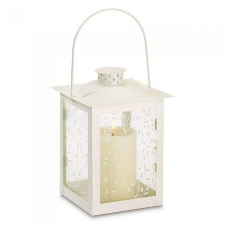 LARGE WHITE LANTERN - European Large Hanging Lantern