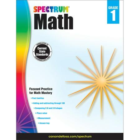 Spectrum Spectrum Math Workbook, Grade 1 160 pages](Halloween Math Games Grade 1)