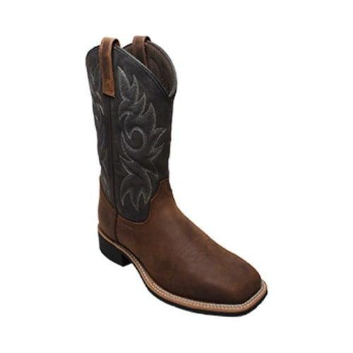 Square Toe Western Work Boot - Walmart