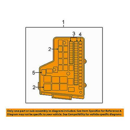 dodge chrysler oem 2009 ram 1500 5.7l-v8-fuse box-fuse ... 2012 dodge ram 1500 fuse box location 2009 ram 1500 fuse box #9