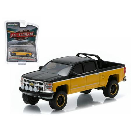 2015 Chevrolet Silverado 1500 Black and Yellow Pickup Truck