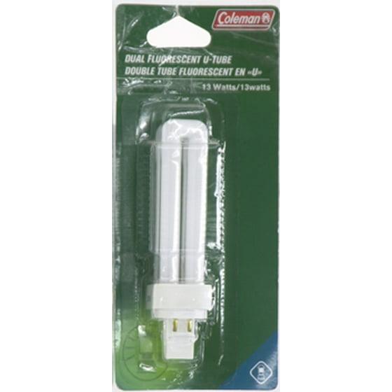 Coleman 13W Dual Fluorescent U-Tube Bulb for Lanterns: Model 5359-130C