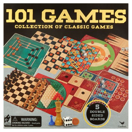 Cardinal 101 Games Collection Of Classic Games Ages 6