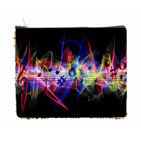 Multicolored Musical Design - 2 Sided 6.5