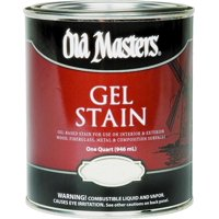 Old Masters 81304 Gel Stain, Cedar, 1 qt Can