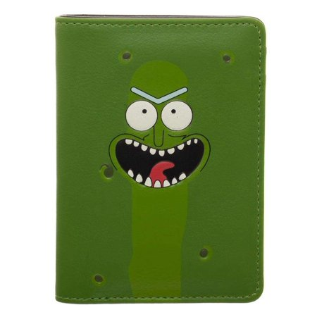 Rick & Morty Pickle Rick Vertical Bi-Fold Wallet