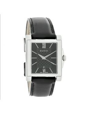 ea24a3f9b5b Free shipping. Product Image 138 G-Timeless Ladies Black Leather Strap  Swiss Quartz Watch YA138503. Gucci