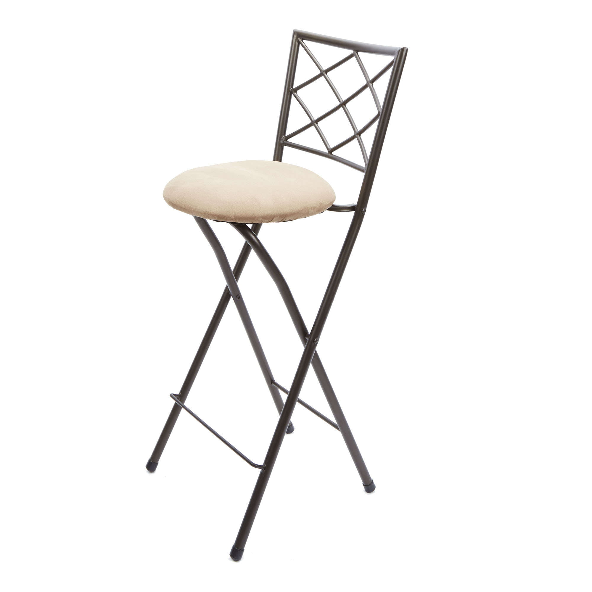 Magnificent Diamond X Back Folding 30 Inch Bar Height Stool Bronze Finish Multiple Colors Walmart Com Unemploymentrelief Wooden Chair Designs For Living Room Unemploymentrelieforg