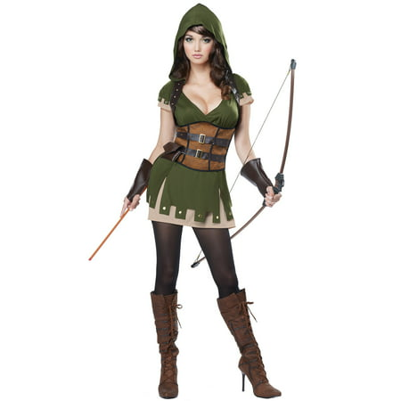 Lady Robin Hood Adult Costume - Easy Robin Hood Costume