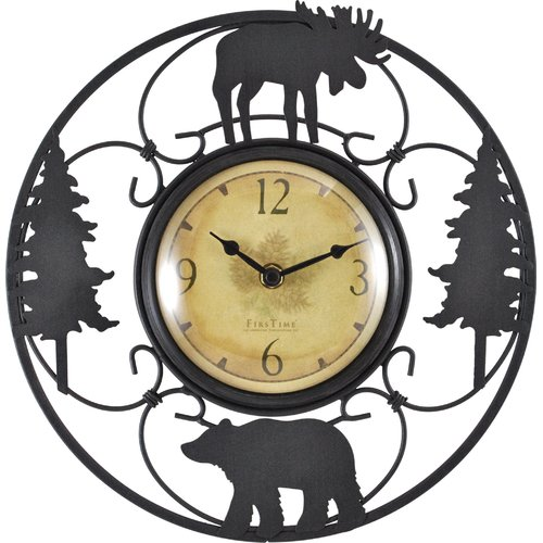 FirsTime Wildlife Wire Clock