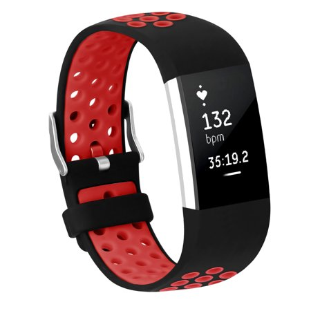 Adepoy - Adepoy Soft Silicone Replacement Sport Wrist Bands Strap for  Fitbit Charge 2 (Red, Large) - Walmart com