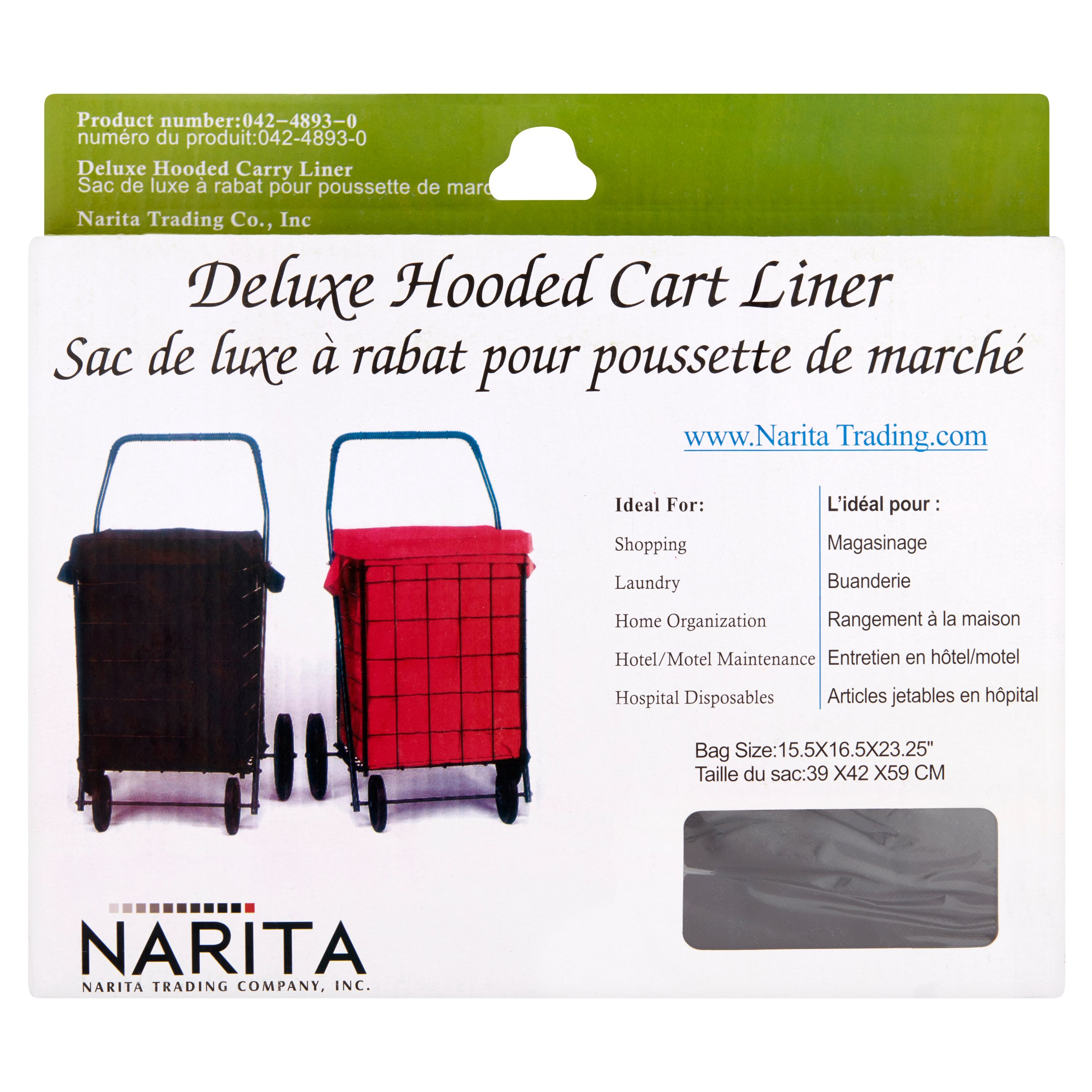 Narita Deluxe Hooded Cart Liner