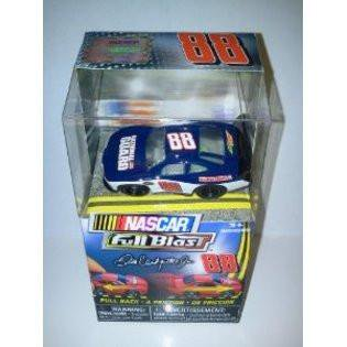 88 National Guard Car - NASCAR Full Blast Pull-Back-Friction 88 Dale Ernhardt Jr BLUE National Guard Car