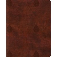 Single Column Journaling Bible-ESV-Leaves Design (Other)