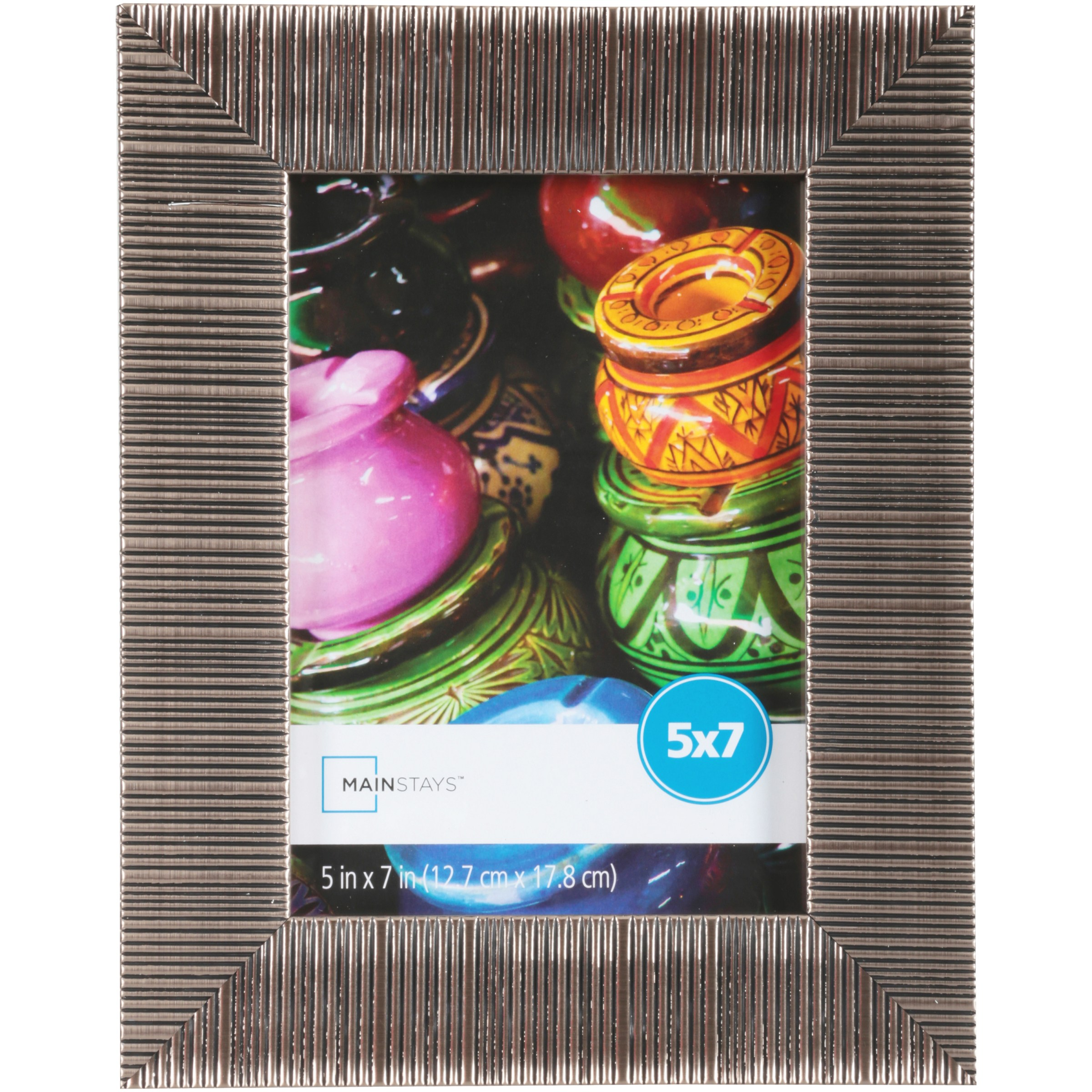 """Mainstays Sylvia 5"""" x 7"""" Picture Frame, Champagne, Set of 4"""