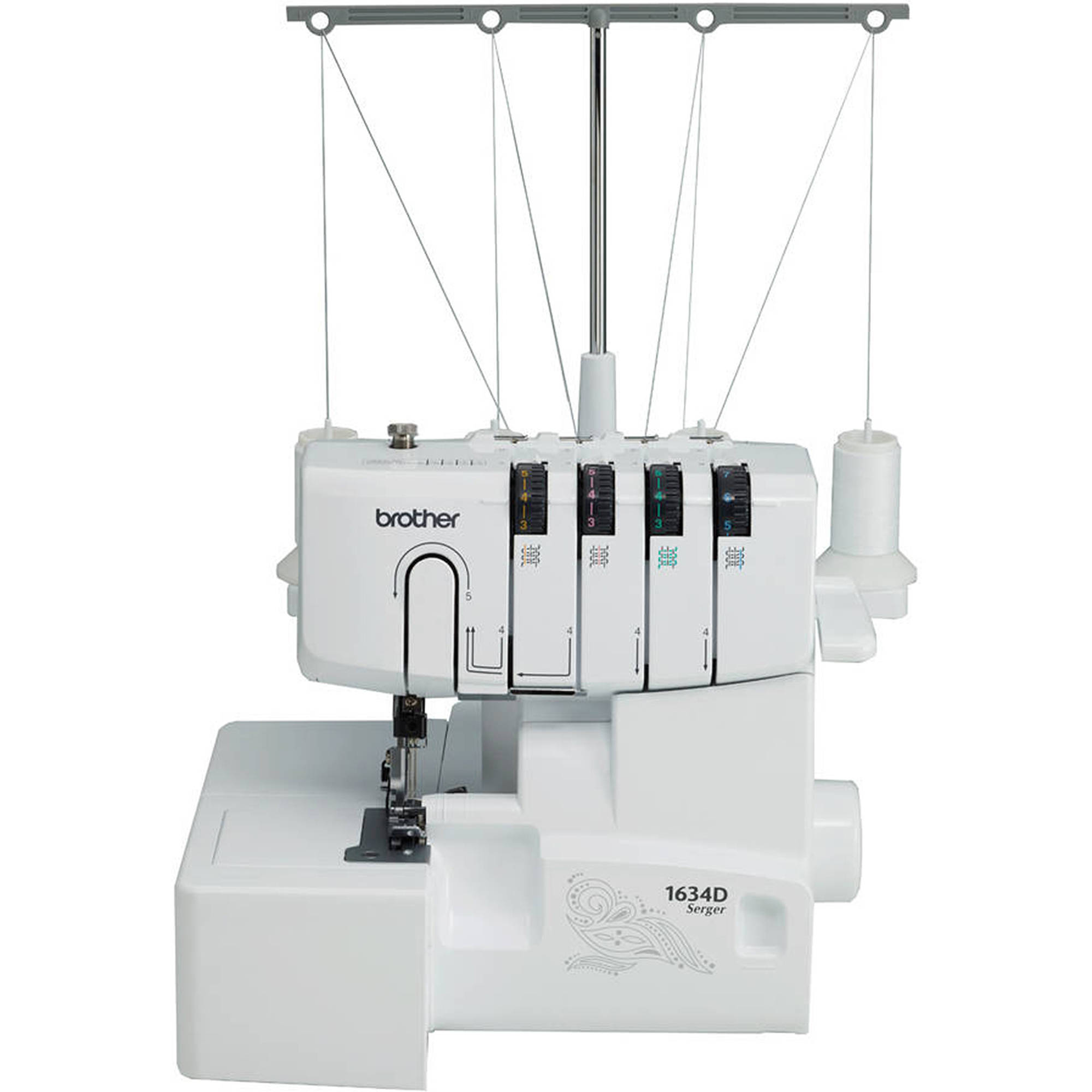 Refurbished Brother 3-Thread or 4-Thread Serger with Differential Feed, R1634D