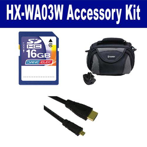 Panasonic HX-WA03W Camcorder Accessory Kit includes: SD4/...
