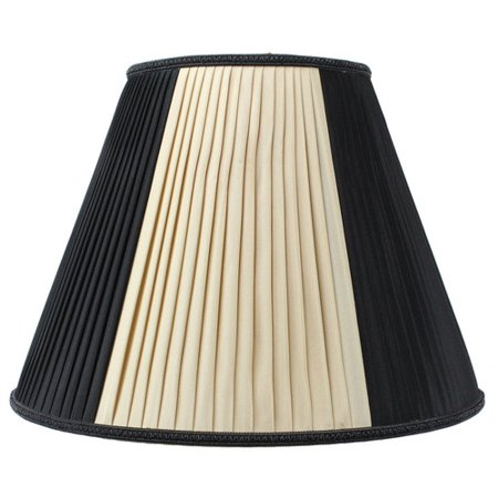 Home Concept Inc Classics Brass 16'' Linen Empire Lamp Shade ()