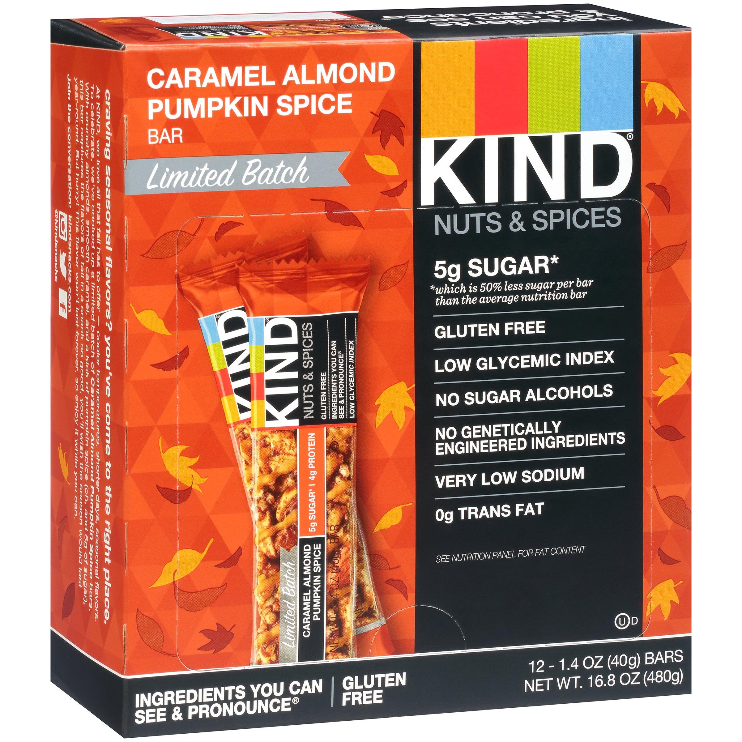 Kind® Nut & Spices Caramel Almond Pumpkin Spice Granola B...
