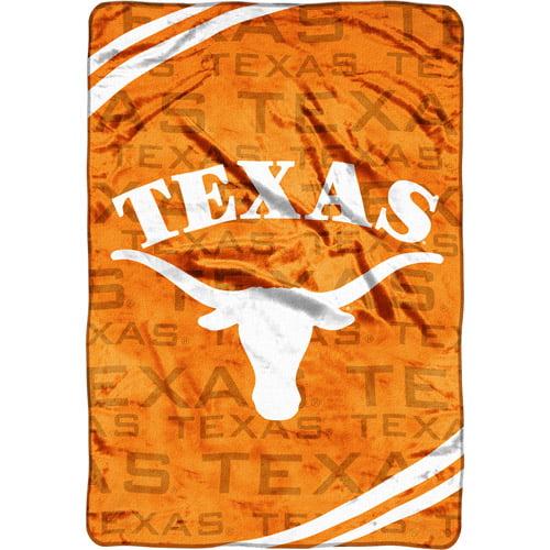 NCAA Texas Longhorns Micro Raschel Blanket