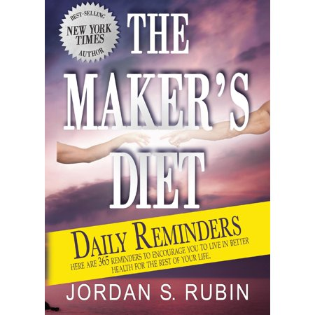 The Maker's Diet Daily Reminders - eBook ()