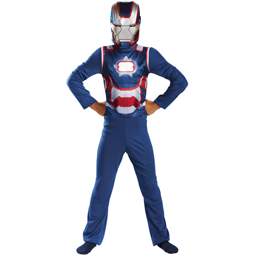 Iron Man 3 Iron Patriot Child Halloween Costume - One Size